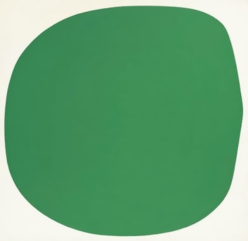 Green White by Ellsworth Kelly