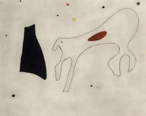 Peinture (Le Chien) by Joan Miro