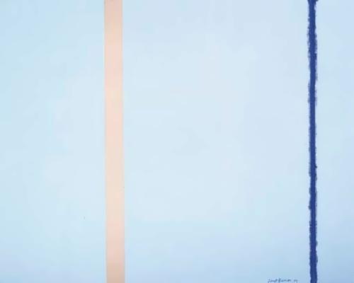 White Fire I by Barnett Newman