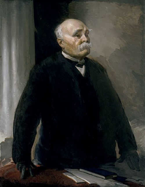 Georges Clemenceau by Beaux Cecilia