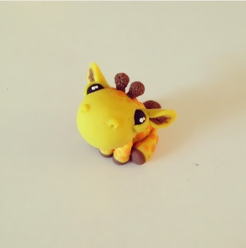 Funny Giraffe by Macy McKenny