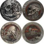 Handmade coins by Paolo Curcio