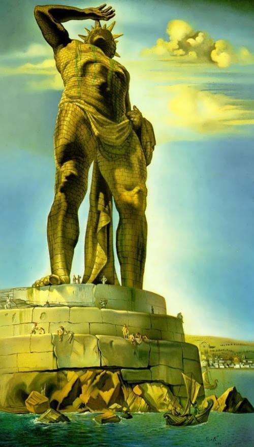 Salvador Dali. Colossus of Rhodes