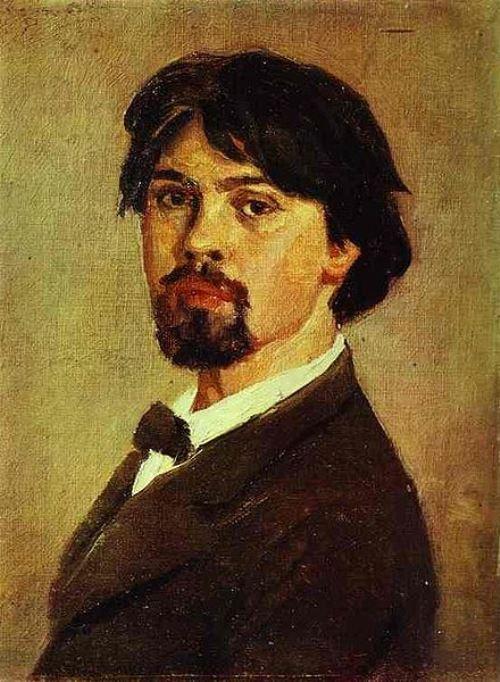 Vasily Surikov. Self Portrait. 1879