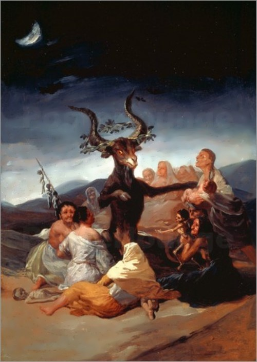 Francisco de Goya. Sabbath