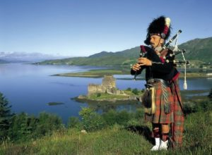 A land of mountains, lochs and legends