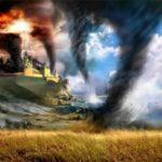 Tornadoes most violent storms