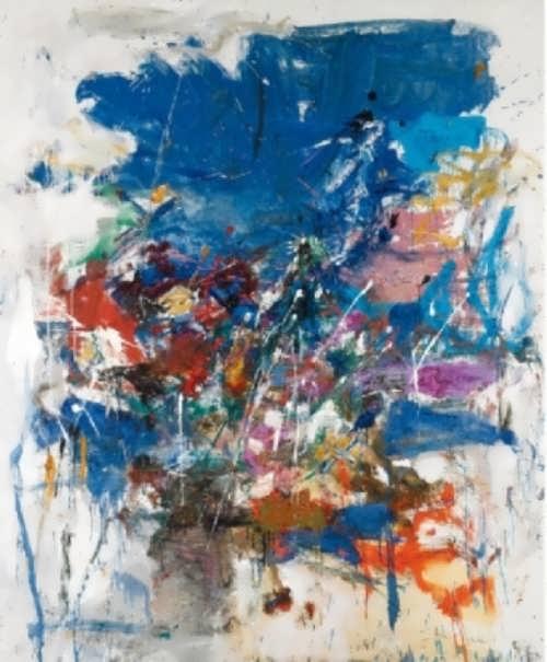 Joan Mitchell. Untitled
