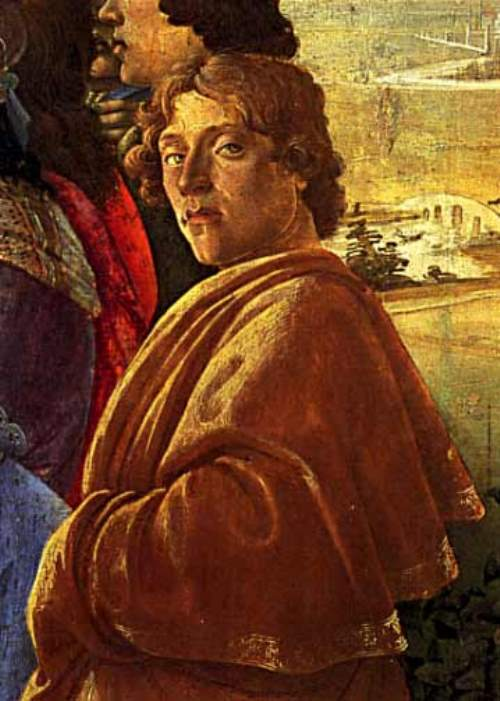 Sandro Botticelli. Self portrait