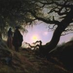 Caspar David Friedrich, Man and Woman Contemplating the Moon