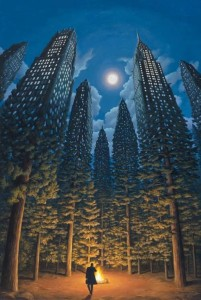 Illusion Paintings Rob Gonsalves