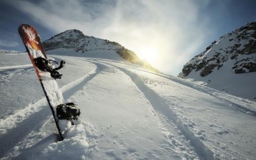 Snowboarding is fun