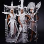 Paper dresses by Asya Kozina