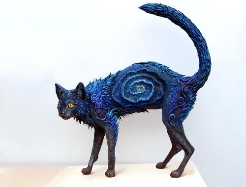 Fabulous animals by Russian artist E. Hontor