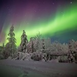 Bright flashes in the arctic sky by V. Zhiganov