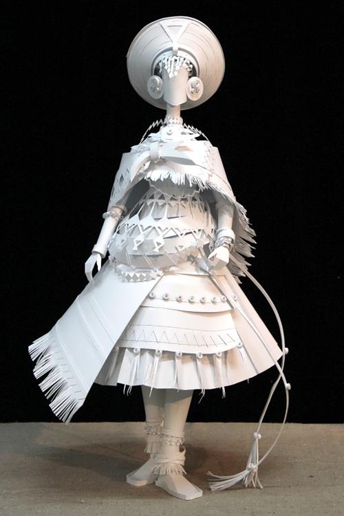 Ethnic Wedding Dress. Zulu