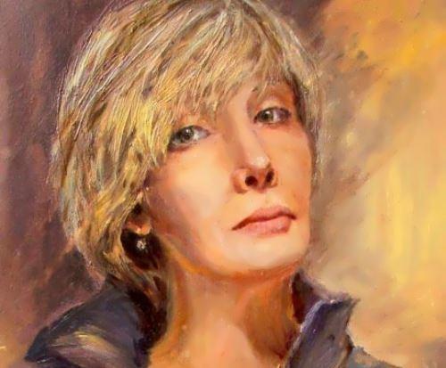 Elena Yushina. Self-Portrait