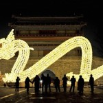 New Year celebration in China