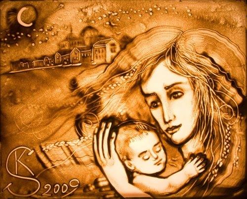 Art by Kseniya Simonova