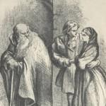 John Gilbert. Romeo, Juliet and the monk Lorenzo