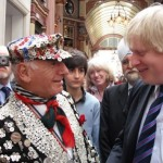 Mayor of London – Boris Johnson and Pearly King