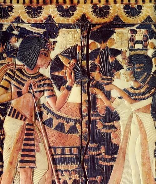 Tutankhamun and Anhesenamon