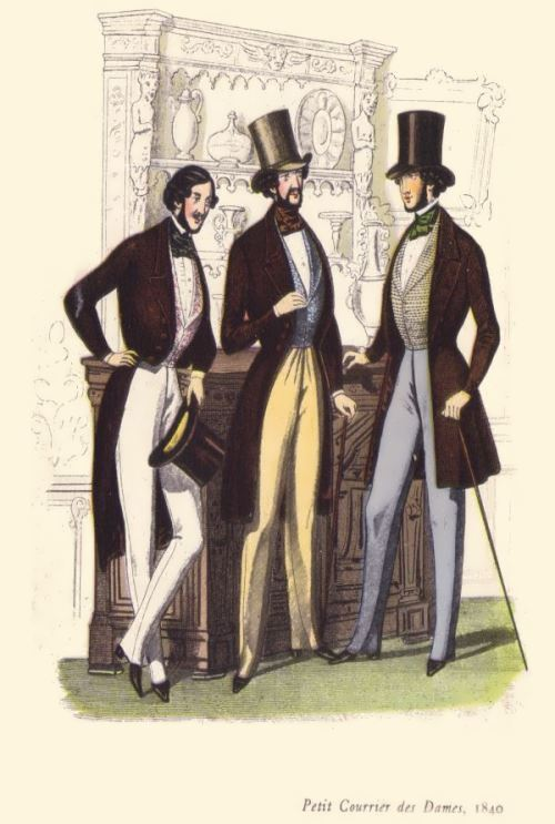 Victorian Men Fashion