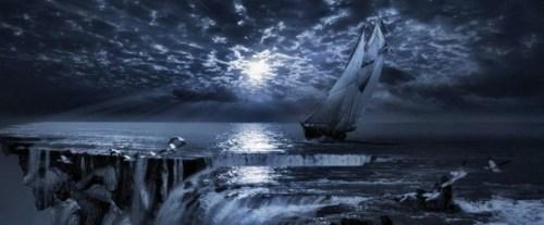 Edge of the sea