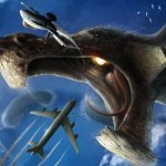 Huge sea monster