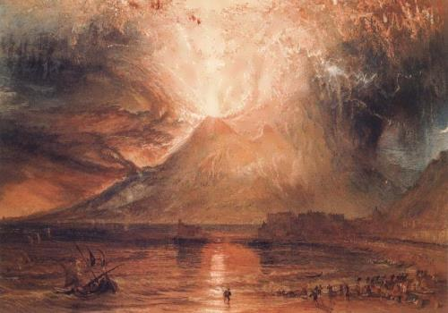 Paintings Of Vesuvius  S
