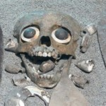Human sacrifice was practiced during a ballgame. The skull was often used instead of a ball.