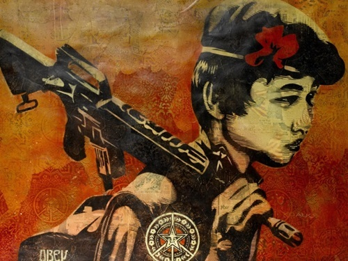 Shepard Fairey. Duality of Humanity