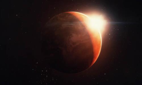 Wonderful planet Mars
