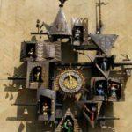 Obraztsov Puppet Theatre Clocks, Moscow, Russia