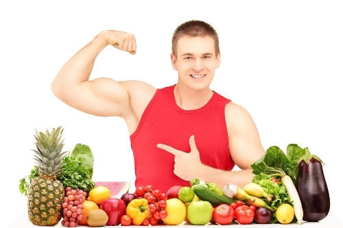 Vegetarians are stronger