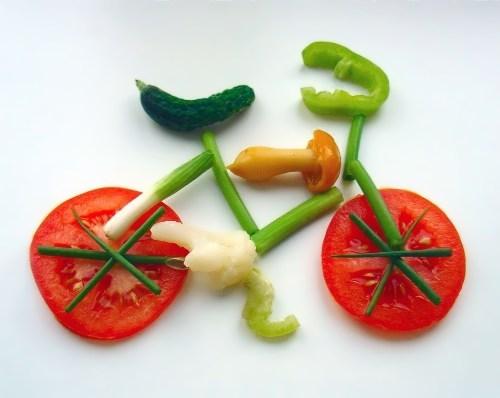Veggie bicycle