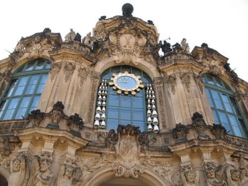 Zwinger Clock, Dresden, Germany