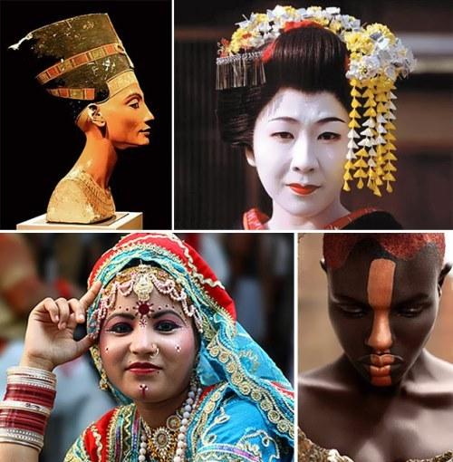 Different eras different beauties
