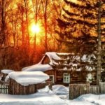 Snow, frost and sunshine