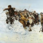 V.I. Surikov. Taking a snow town, 1891