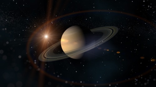 Saturn – gas giant