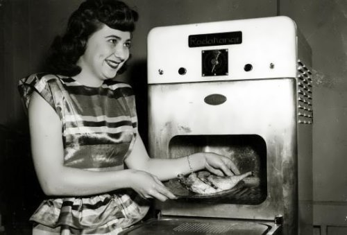 History of microwave oven