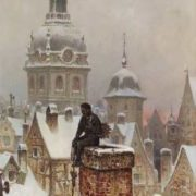 Frans Wilhelm Odelmark. Chimney Sweep 1880