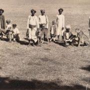 Hunting cheetahs. 1890