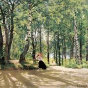 Ivan Shishkin. At the cottage, 1894