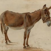 Jacques Laurent Agasse. A donkey