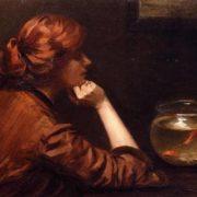 John White Alexander (1856 -1915). An Idle Moment