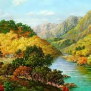 Kang Jung Ho landscapes