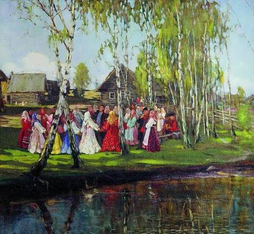 Mikhail Boskin. Runaround, 1910