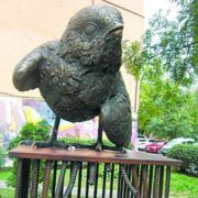 Monument to sparrow